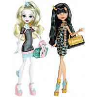 Клео и Лагуна Скариж Сет из 2х кукол Monster High Lagoona Blue and Cleo de Nile Scaris Лагуна и Клео Скариж