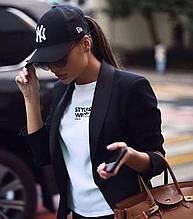 Женская кепка бейсболка NY с сеткой