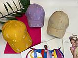 Жіноча кепка бейсболка з літерами, фото 2