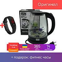 Стеклянный электрочайник Opera OP-860