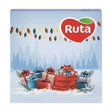 """Серветки""""Ruta""""Св*ято наближається 2ш.20л.33*33"""
