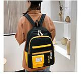 (3в1-как на фото)Рюкзак девушка 4в1 ткань Оксфорд сделанный в Китай спортивный городской стильный опт, фото 5