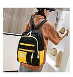 (3в1-как на фото)Рюкзак девушка 4в1 ткань Оксфорд сделанный в Китай спортивный городской стильный опт, фото 4