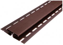 H планка ASKO NEO коричневый для софита соеденительная планка (соеденительный профиль)