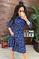 Женское платье Лайма цветочный принт, фото 1