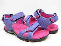 Сандалии подростковые Gepard  на девочку фиолетово-розовые 36, фото 1