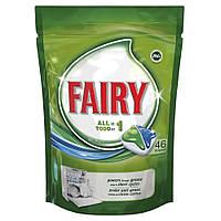 Капсулы для посудомоечных машин Fairy All in 1, 46 шт