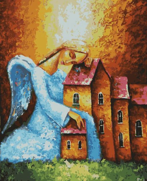 Картина по номерам Ангел хранитель 40 х 50 Artissimo PN5455