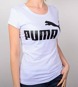 -Р - Футболка жіноча спортивна PUMA Білий (2015ж), XXL