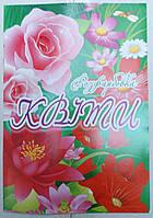 Раскраска А4 (4листа) Цветы