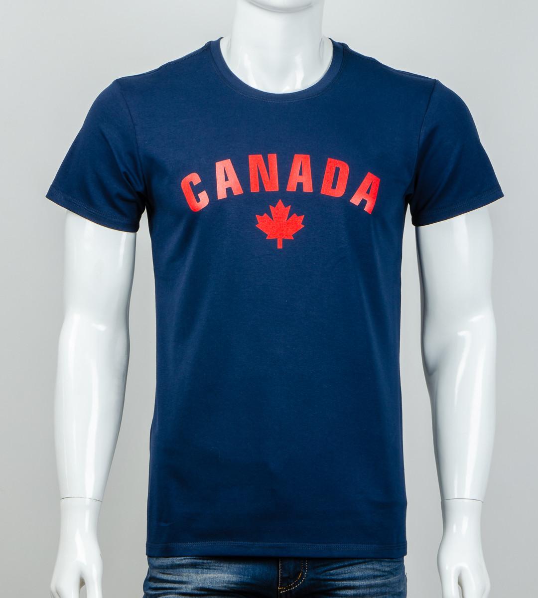 -Р- Футболка мужская CANADA Синий (2012м), XL
