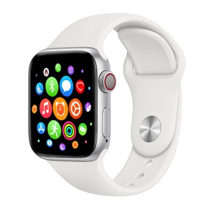Смарт часы T500 White в стиле Apple Watch (Smart Watch) Умные часы Фитнес браслет Фитнес трекер