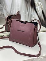 Женский сумка на плечо 4009 пудра Женские клатчи Женские сумки купить оптом в Украине, фото 1