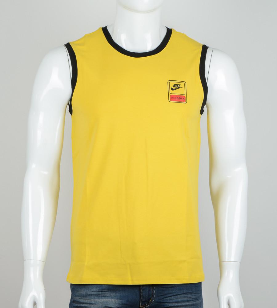 -Р- Безрукавка мужская Nike Горчица (2060бм), M