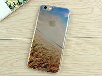 """Премиум силиконовый чехол """"Поле пшеницы"""" для Iphone 6"""