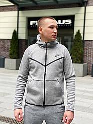 Толстовка мужская Nike M NSW Tech Fleece Windrunner / CLO-217 (Размеры:S,L)