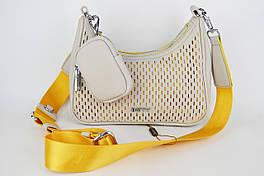 Сумка женская Batty 3526 Серо-желтый