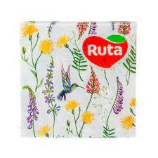 """Серветки""""Ruta""""33*33 Весняна мелодія 2ш.20шт."""