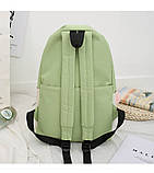 (4в1-как на фото)Рюкзак девушка 4в1 ткань Оксфорд сделанный в Китай спортивный городской стильный опт, фото 7
