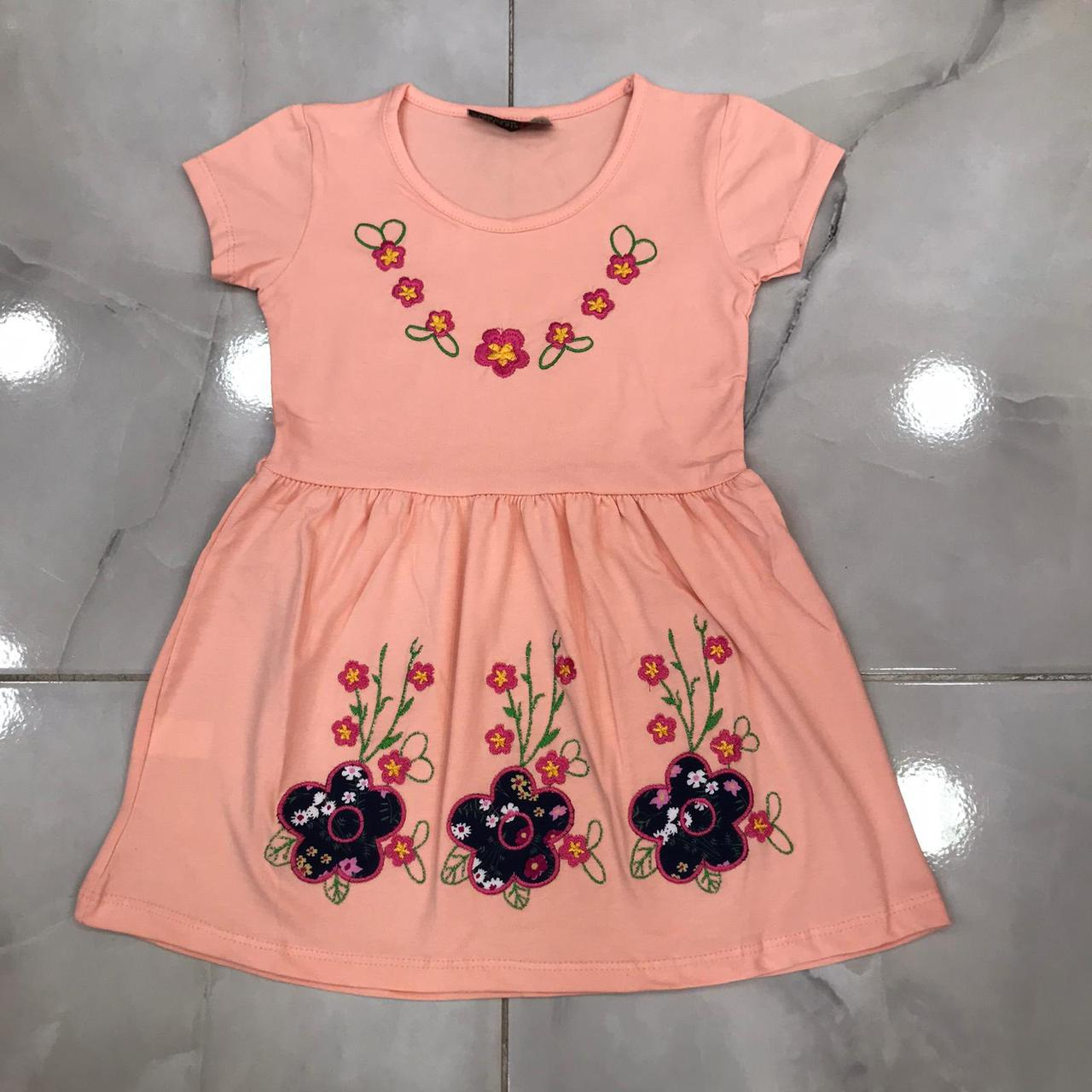 Детское платье 1-8 лет на девочек Турция оптом