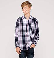 Рубашка на мальчика C&A (Германия) р 134/140 см