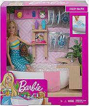 Игровой набор Кукла Барби и Шипучая ванна - Barbie Fizzy Bath Doll & Playset, Blonde