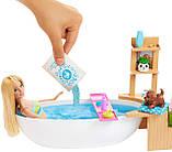 Игровой набор Кукла Барби и Шипучая ванна - Barbie Fizzy Bath Doll & Playset, Blonde GJN32, фото 4