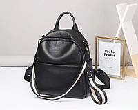 Стильный молодёжный  рюкзак из натуральной кожи. Кожаный рюкзак универсальный женский., фото 1