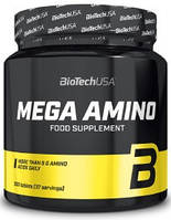Амінокислоти BioTech - Mega Amino (300 таблеток)