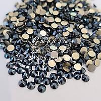 Стрази ss20 Shiny Black Xirius 8+8, 100шт. (5.0 мм) Blinginbox