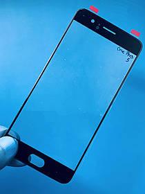 Скло дисплея для One Plus 5 чорне (для переклеювання)