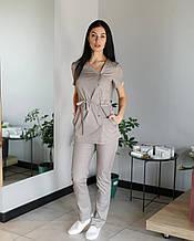 Медичний жіночий костюм Наомі для косметолога, б'юті майстра