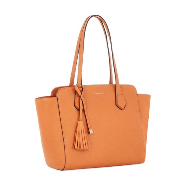 Светло-коричневая женская сумка тоте