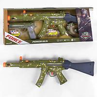 Игрушечный автомат большой детский военный набор для мальчиков с пистолетом Хаки (57358)