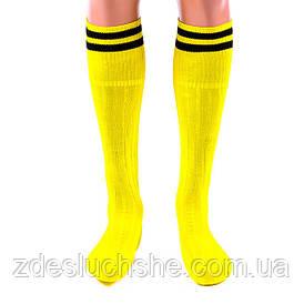 Гетры World Sport N022Y желтые размер 34-39 SKL83-281082