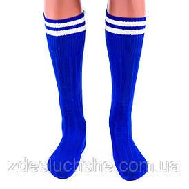 Гетры World Sport синие размер 34-39 SKL83-281086