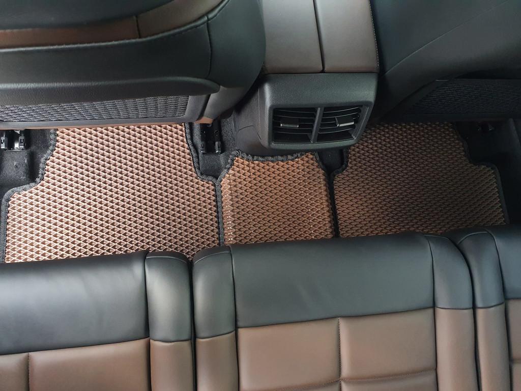 Наши коврики ЕВА в салоне Citroen C5 Aircross '17-
