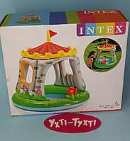 Детский надувной бассейн Intex, Королевский Замок, 122 х 122 см 57122