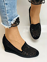 StaloTotti. Жіночі модельні туфлі-човники. Натуральна замша. Розмір 35.36.37.38.39.40, фото 2
