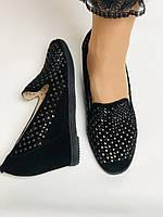 StaloTotti. Жіночі модельні туфлі-човники. Натуральна замша. Розмір 35.36.37.38.39.40, фото 4