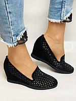 StaloTotti. Жіночі модельні туфлі-човники. Натуральна замша. Розмір 35.36.37.38.39.40, фото 3