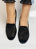 StaloTotti. Жіночі модельні туфлі-човники. Натуральна замша. Розмір 35.36.37.38.39.40, фото 10