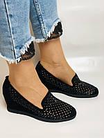 StaloTotti. Жіночі модельні туфлі-човники. Натуральна замша. Розмір 35.36.37.38.39.40, фото 6