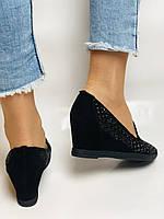 StaloTotti. Жіночі модельні туфлі-човники. Натуральна замша. Розмір 35.36.37.38.39.40, фото 7
