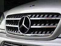 Решетка радиатора Mercedes W163 ML