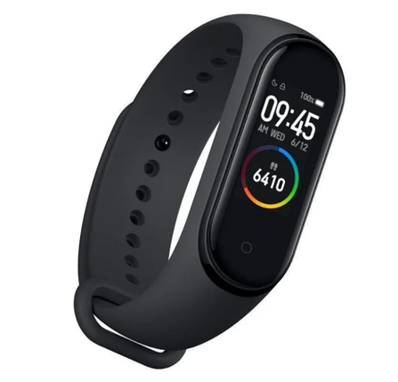 Smart Watch Mi BAND M4 black | Фитнес браслет трекер | Умный браслет часы, фото 2