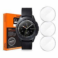 Защитное стекло Spigen для Samsung Galaxy Watch (42mm) GLAS.tR Slim, 3шт (600GL25075)