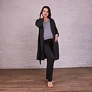 Комплект 3-ка халат, піжама (футболка і штани) для вагітних і годуючих мам