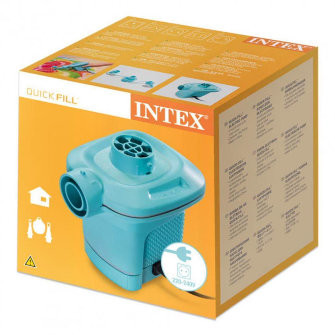 Насос электрический Intex от сети голубой (58640)