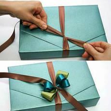 Услуги упаковки и оформления подарков